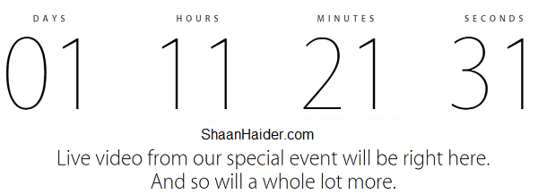 Watch Apple iPhone 6 and  iWatch Launch Event Live Stream Online