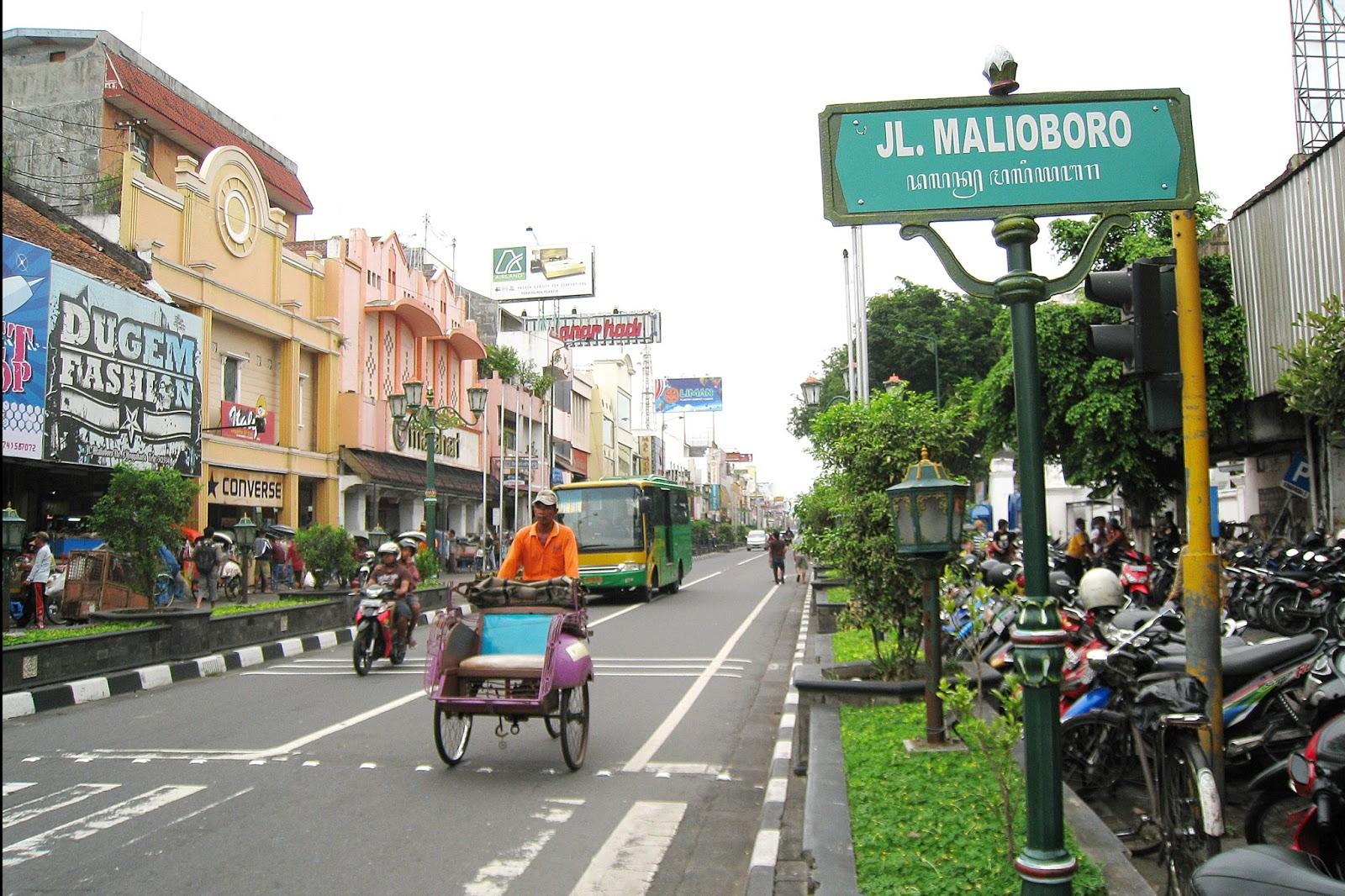 Malioboro Pusat Wisatawan Di Jogja