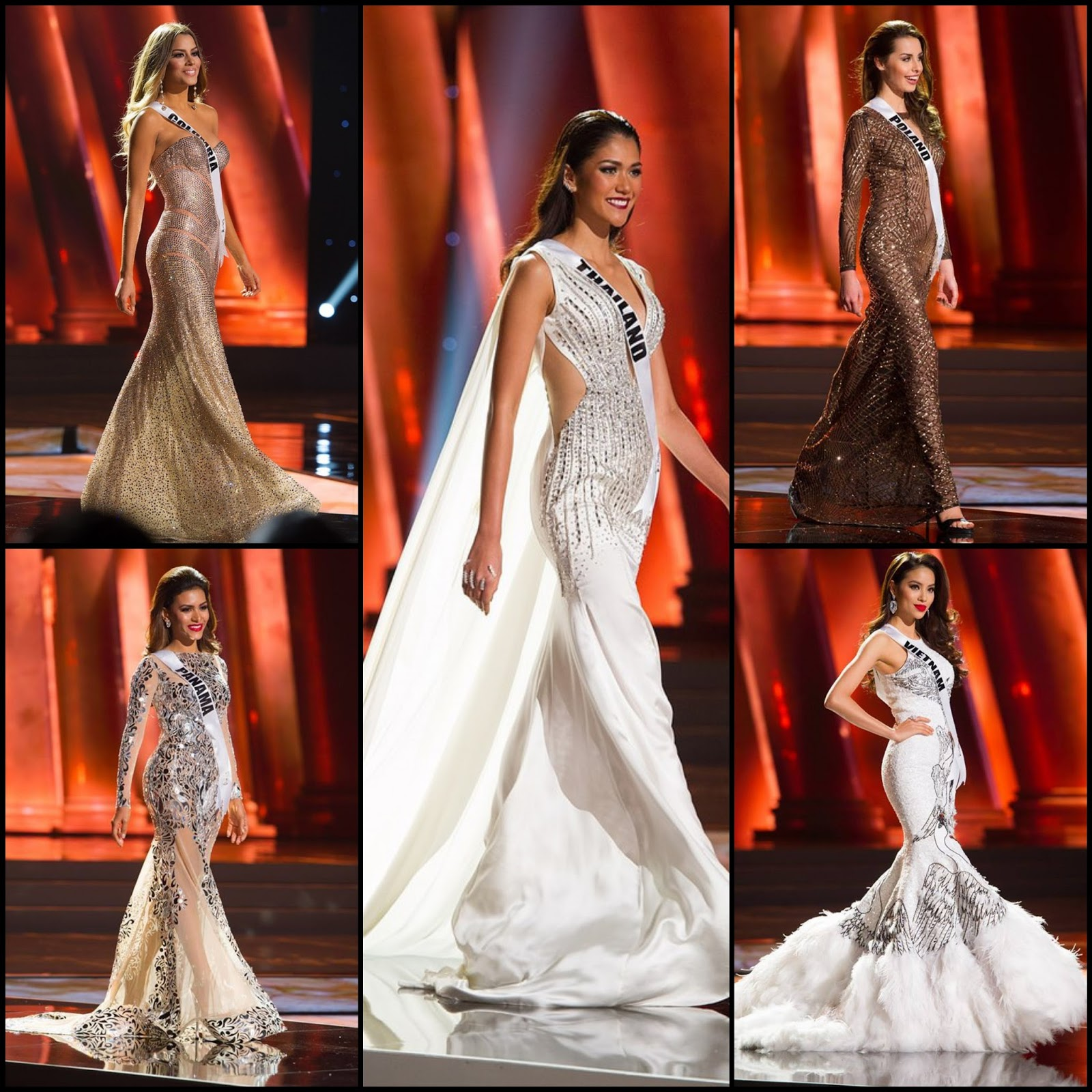 SASHES AND TIARAS.....Miss Universe 2015 Preliminary Competition ...