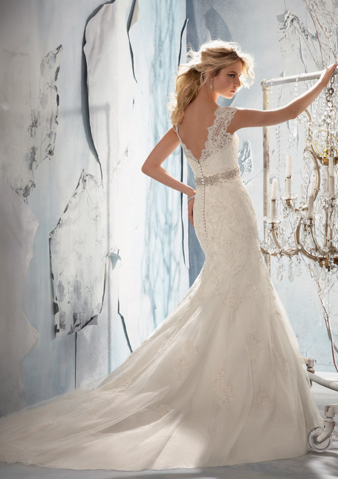 Mori lee by madeline gardner fall 2013 bridal collection Wedding dress 1960