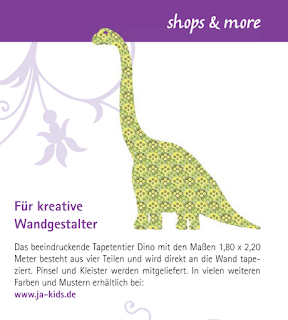 Nice To See The New Dinosaur Decals Are Received Well By The Press! One Of  Our Favorite German Web Stores JA KIDS Managed To Sneak A Diplodocus In The  ...