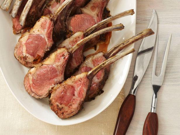 Roasted Rack of Lamb