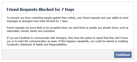 how to know that i am blocked on facebook