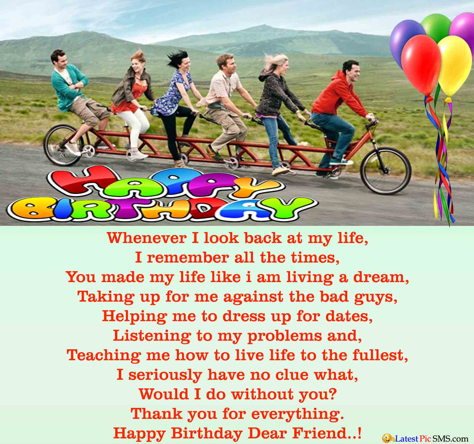 inspirational birthday wishes for a friend