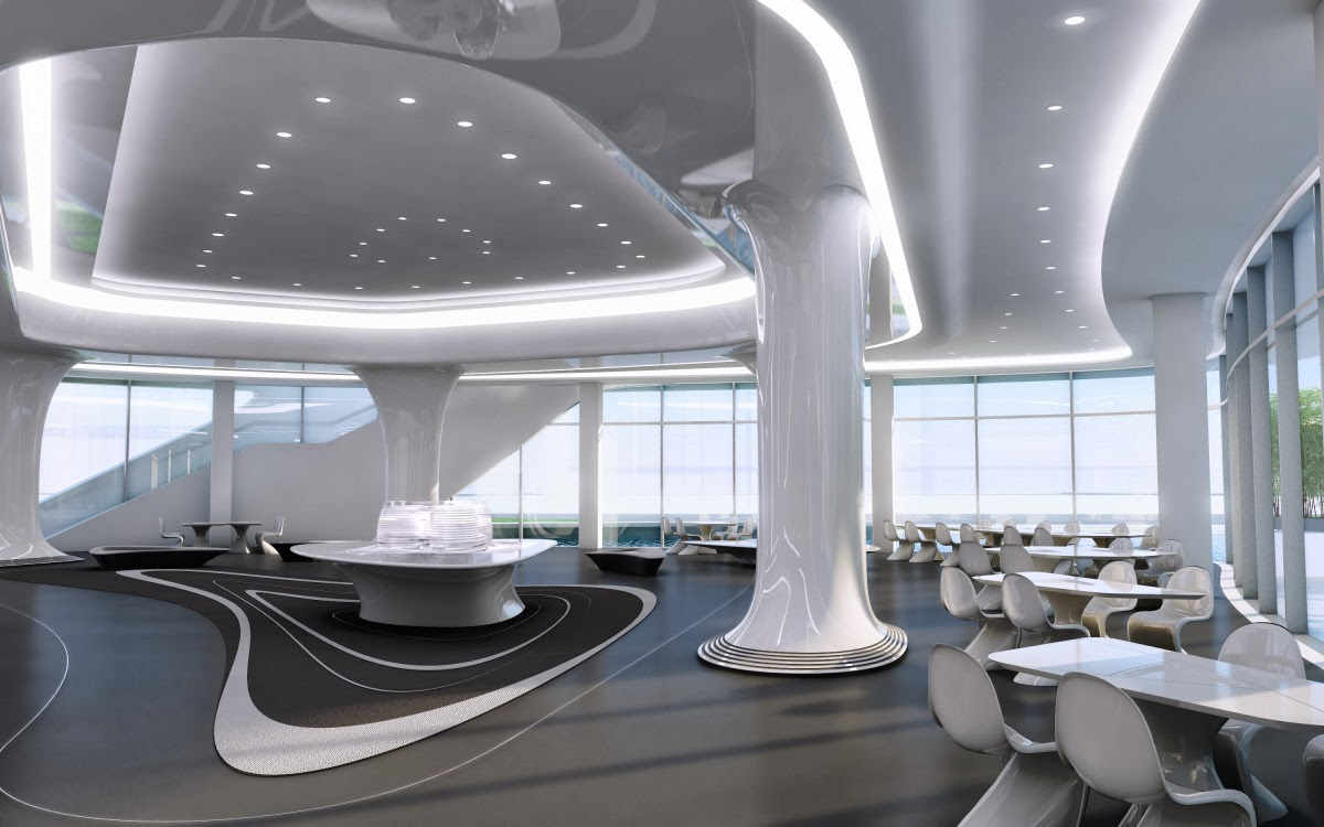 Lovely Zaha Hadid Interior Design