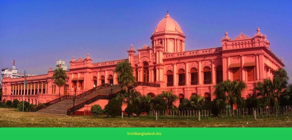 Ahsan Manzil, Dhaka, Bangladesh, visit bangladesh, tourist spot of bangladesh,