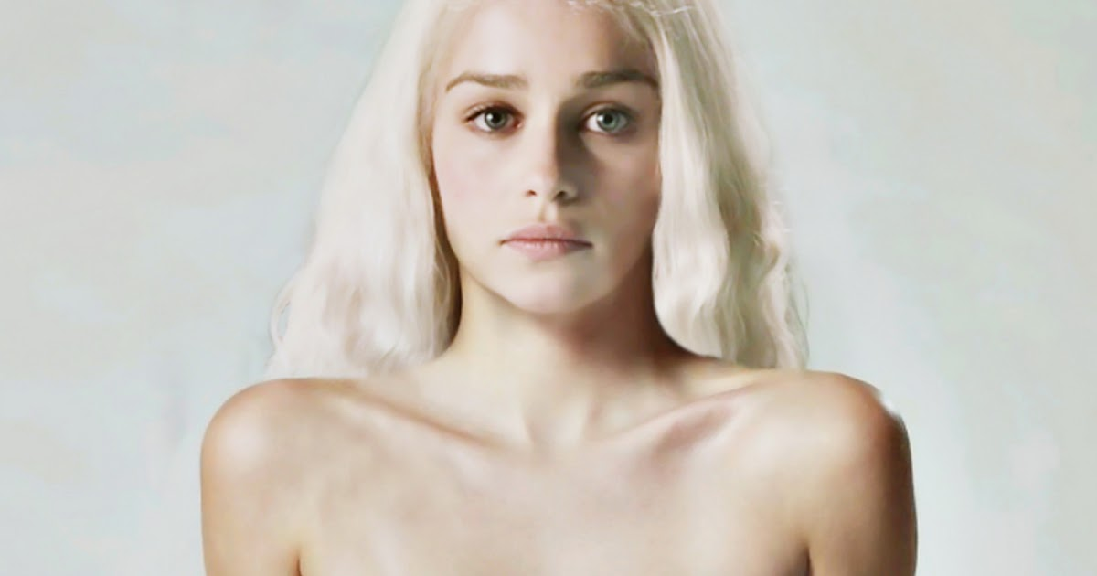 celebrity naked pictures emilia clarke topless photo shoot