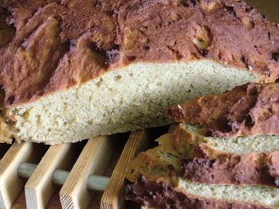Chleb żytni z zarodkami pszennymi