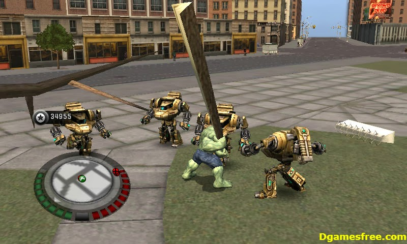 incredible hulk games free download for pc