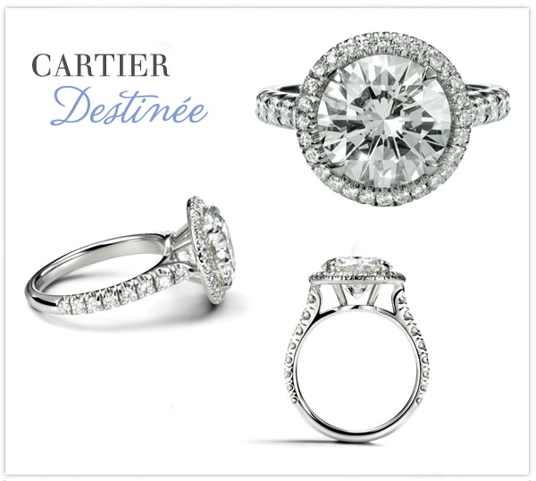 Cartier Destinee Engagement Ring Price