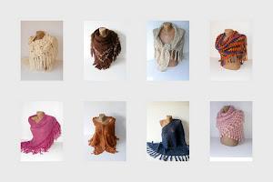*** crochet women shawls ***