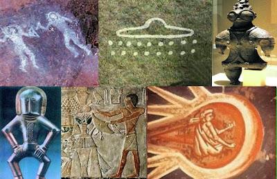 ¿Los antiguos astronautas extraterrestres fueron confundidos por dioses por nuestros antepasados?