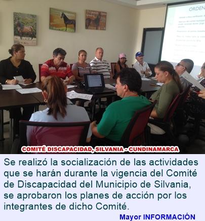 Comité de Discapacidad del Municipio de Silvania