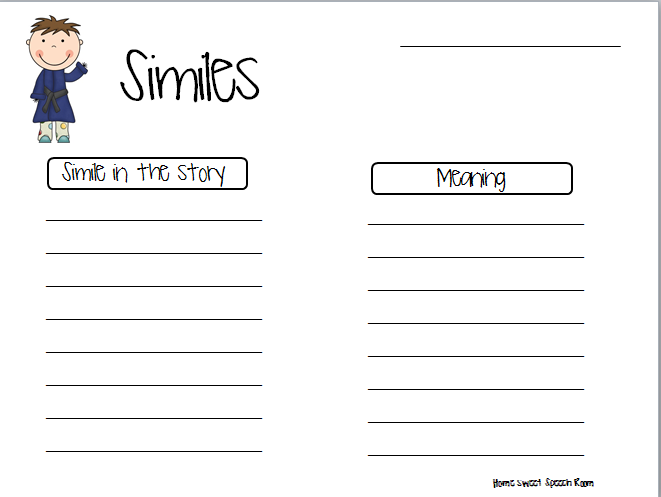 Printables Simile Vs Metaphor Worksheet simile and metaphor worksheet similes worksheets metaphors pack includes definition page for