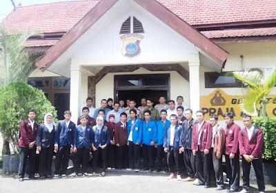 Polres Kotabaru Dialog Dengan Mahasiswa