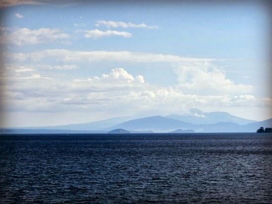 Taupo lake, New Zeland
