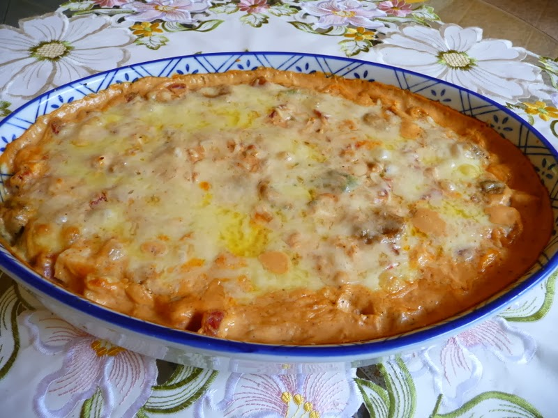 SPLENDID LOW-CARBING BY JENNIFER ELOFF: CHICKEN ENCHILADA DIP