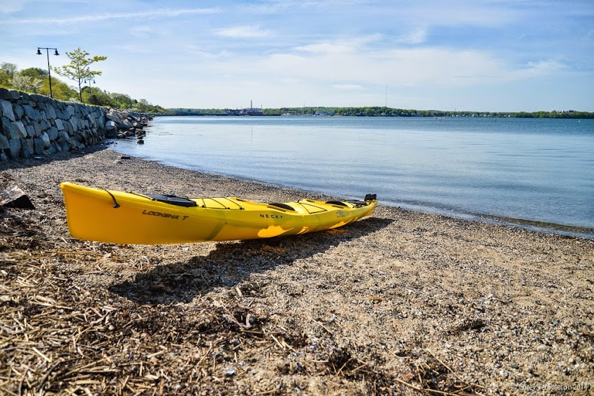 June 2014 Portland, Maine Trails Eastern Prom Promenade East End Beach Kayak casco bay photo by Corey Templeton