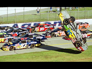 Nascar Accident HD Wallpaper