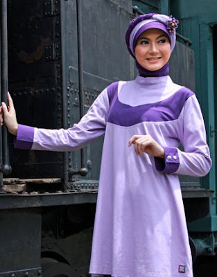 Zenitha Collection Blouse Muslimah Modern ZN 18 B