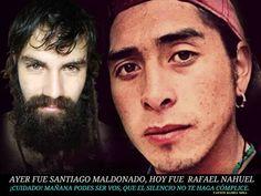 Santiago y Rafael Nahuel.