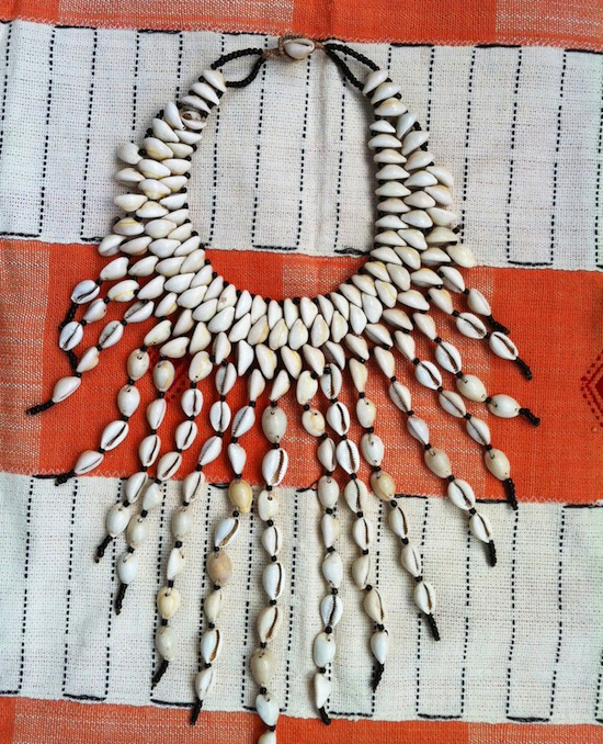 Cowry Shell Statement Necklace Mali Proud Mary