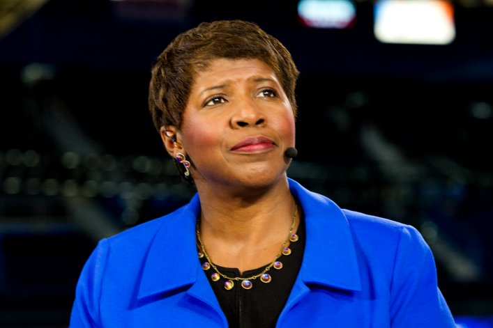 GWEN IFILL, DEAD AT 61.