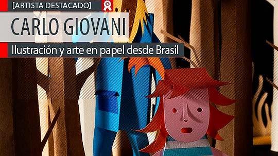 http://www.colectivobicicleta.com/Ilustración y arte en papel de CARLO GIOVANI