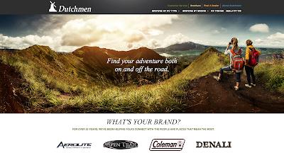 Dutchmen RVs debuts new website