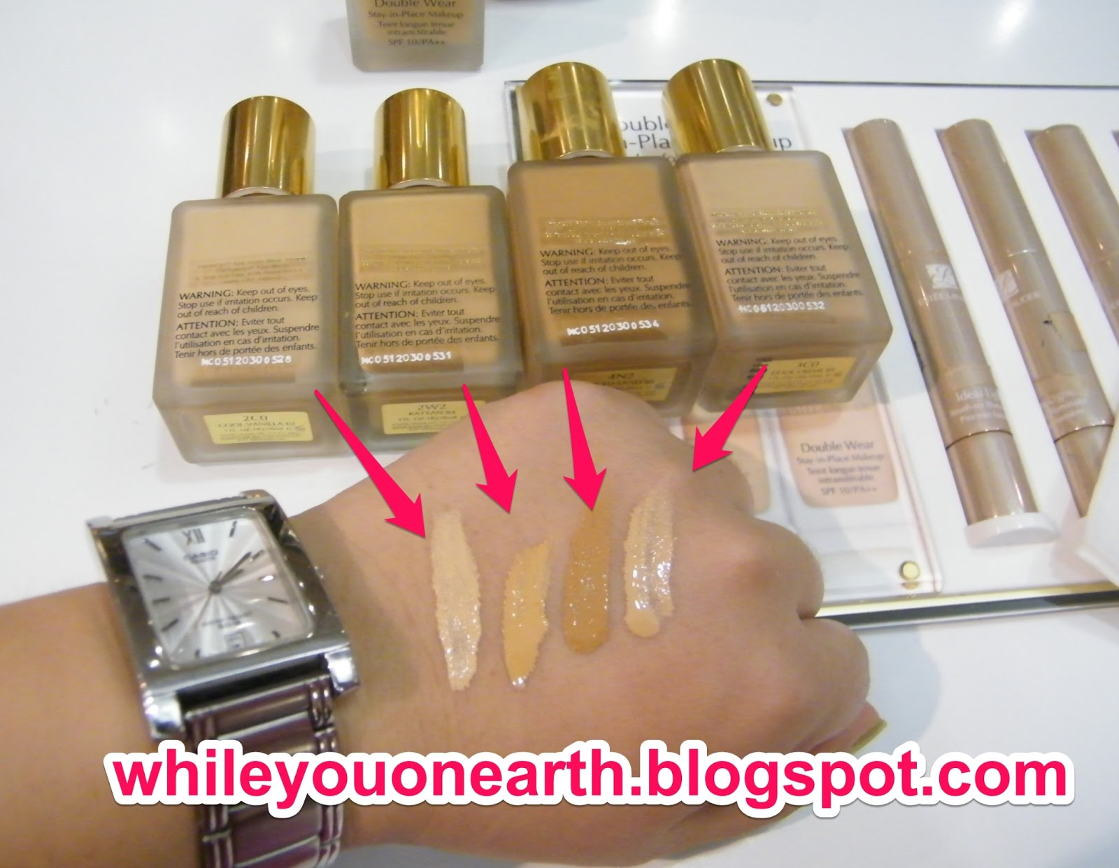 While You On Earth Estee Lauder Double Wear Stay In Place Makeup