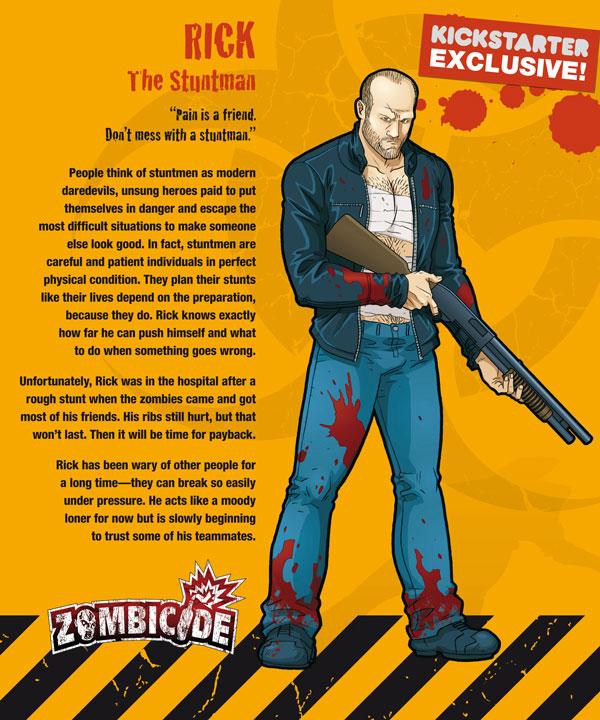Zombicide personajes RICK