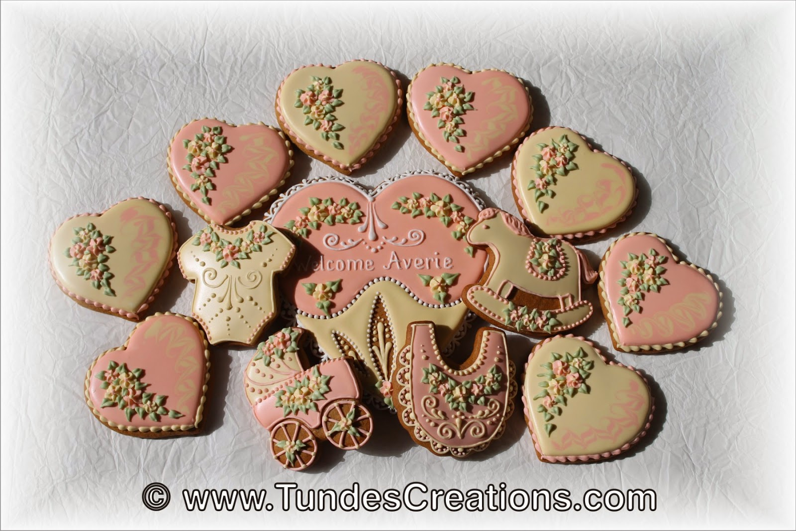 Baby shower cookies 1