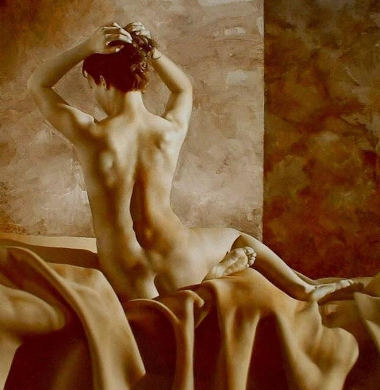 sexy mujer desnuda adulta joven Foto de stock