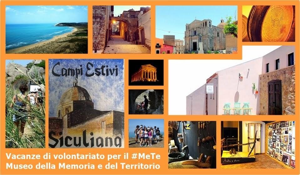 Un'esperienza umana e culturale a sotegno del #MeTe Museo della Memoria e del Territorio