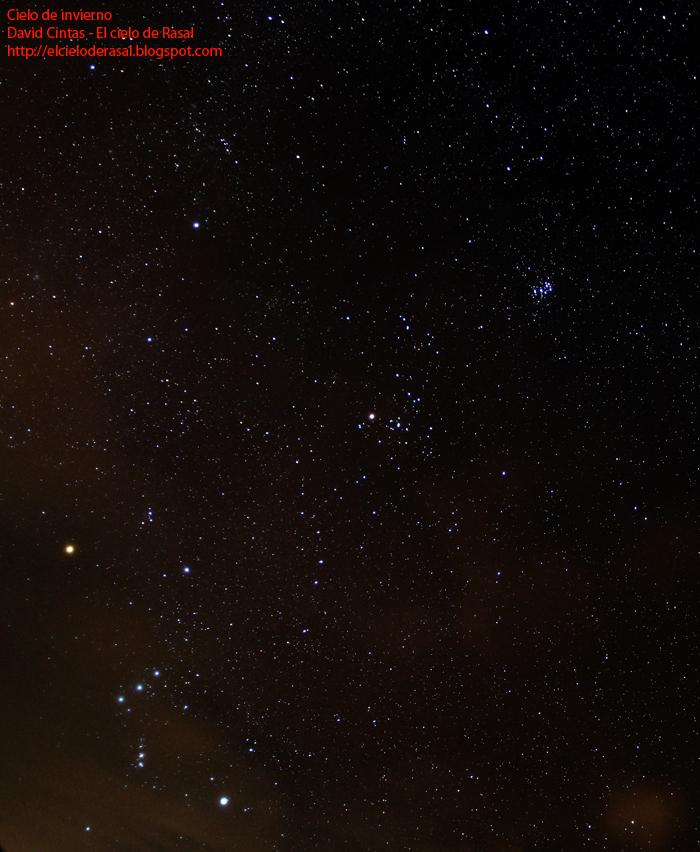 El cielo de invierno - El cielo de Rasal