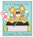 I'm a Designer for Treasure Box Designs!