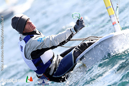Robert Scheidt, double champion olympique et huit fois champion du monde en laser.
