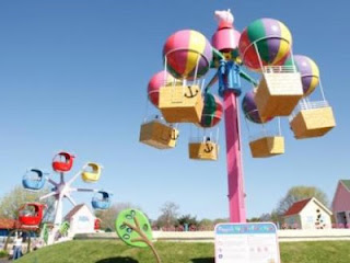 Peppa Pig World theme park at Paulton's Park