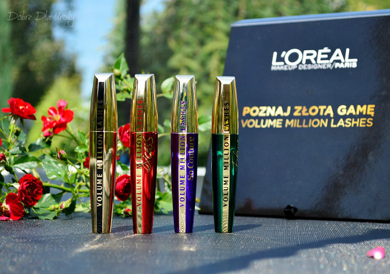 Tusze do rzęs L'oreal Paris Volume Million Lashes