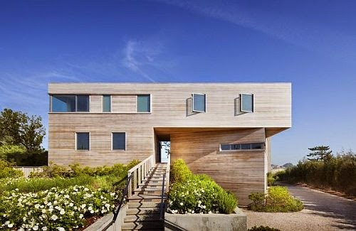 contemporary bay house long island new york