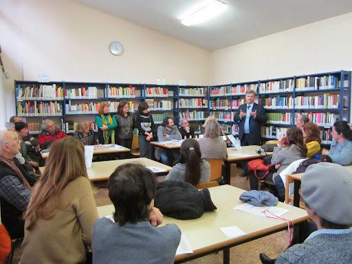 Oscar in Biblioteca Harar 2012