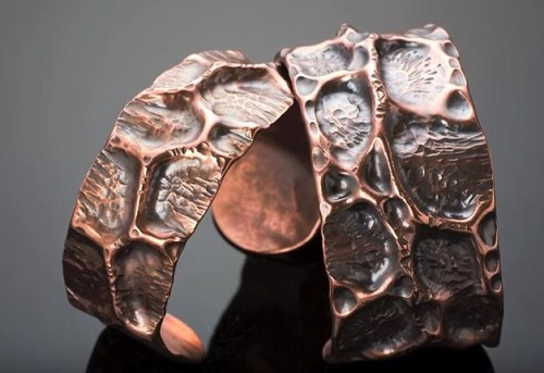 How To Make A Fold Formed Cuff Out Of Copper Piping The