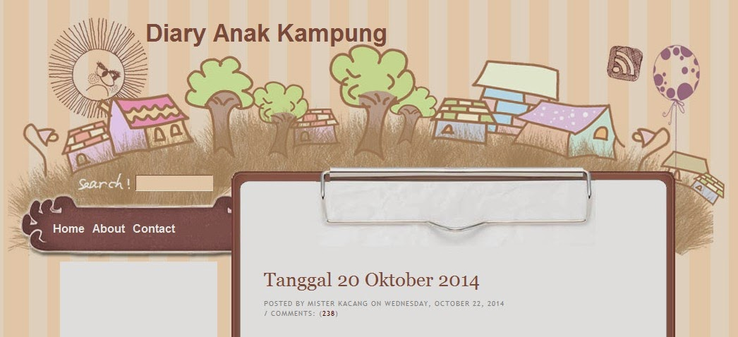 Blog Anak Presiden Jokowi Diary Anak Kampung