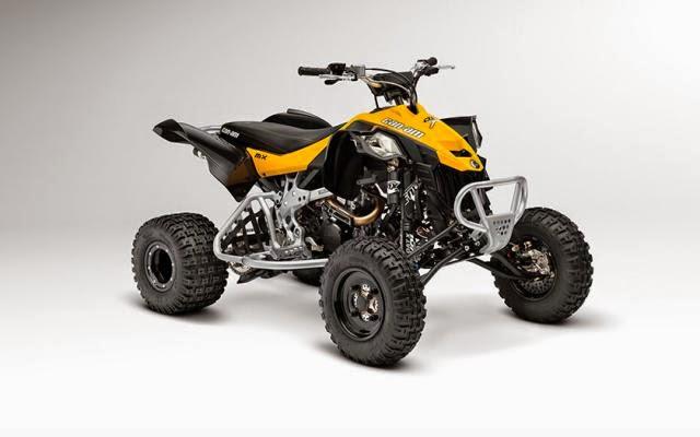 KTM 450 XC ATV New Yellow Bikes