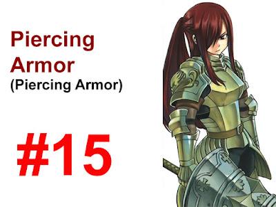 Piercing Armor Erza Scarlet