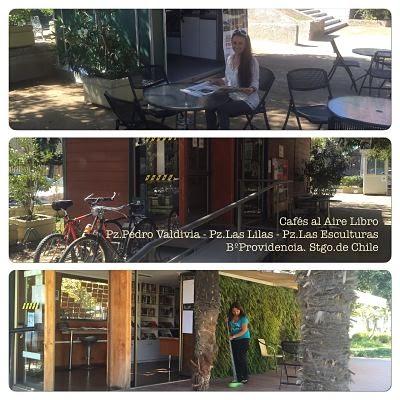 Cafés al Aire-libro Santiago de Chile
