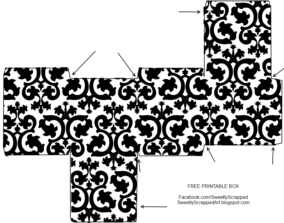 free box templates - sweetly scrapped free printable boxes