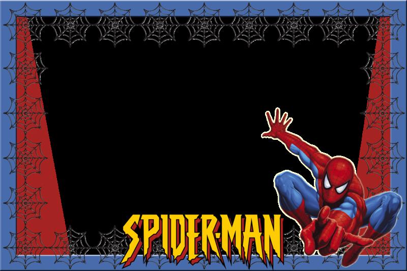 Marcos png hombre araña - Imagui