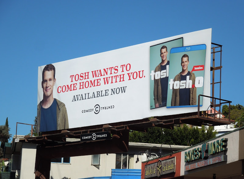 Tosh Bluray billboard