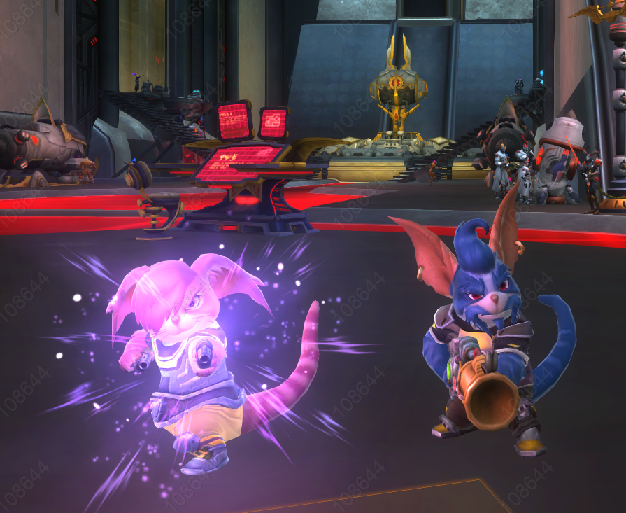 Our first toons in Wildstar